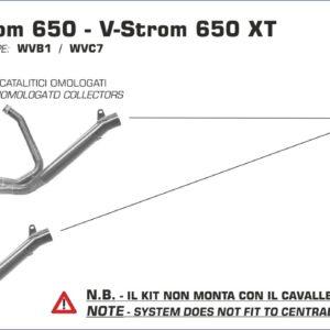 ESCAPES ARROW - Silencioso Arrow Race-Tech Approved de titanio fondo en carbono -