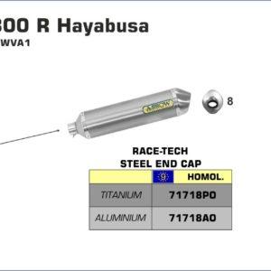 ESCAPES ARROW - Silencioso Arrows Race-Tech Approved de titanio (Dcho+Izdo) para Colectores Arrow originales -