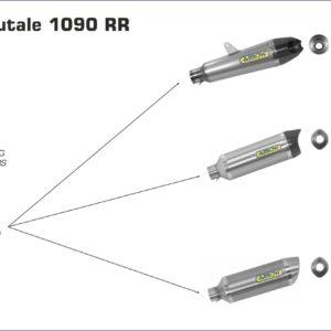ESCAPES ARROW - COLECTORES ARROW RACING MV AGUSTA Brutale 1090 RR '10/12 Brutale 990 R '09/12 Brutale 920 '11/12 -