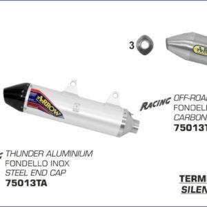 ESCAPES ARROW HUSQVARNA - Silencioso Arrow Off-Road Thunder de titanio -