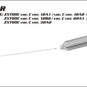 ESCAPES ARROW KAWASAKI - Conector Arrow bajo para Colectores Arrow originales -