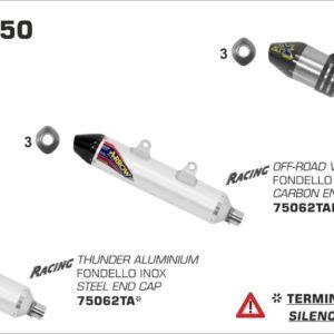 ESCAPES ARROW KTM - Sistema completo Arrow Off-Road MX Competition EVO -
