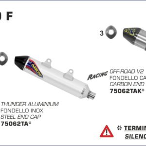 ESCAPES ARROW KTM - Colector Arrow racing -
