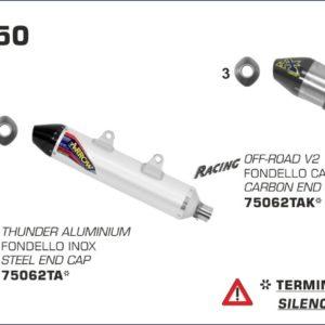 ESCAPES ARROW KTM - Sistema completo Arrow Off-Road MX Competition -
