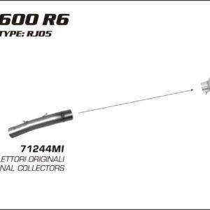 ESCAPES ARROW - Silencioso Arrow Race-Tech Approved de titanio -