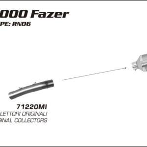 ESCAPES ARROW - Silencioso Arrow Race-Tech Approved de carbono -