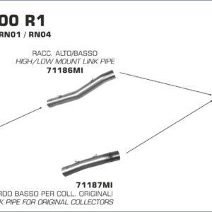 ESCAPES ARROW - Silencioso Arrow Race-Tech Approved de aluminio -