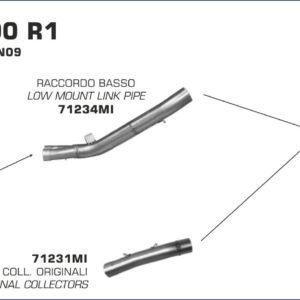 ESCAPES ARROW - Conector Arrow bajo para Colectores Arrow originales -