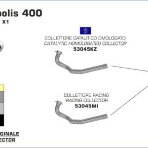 PEUGEOT - Silencioso Arrow Race-Tech de aluminio Dark fondo en carbono -
