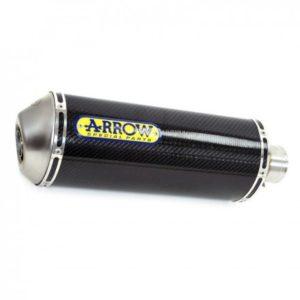 ESCAPES ARROW - Silencioso Arrow Maxi Race-Tech Approved de carbono fondo en carbono -