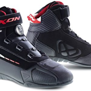 BOTAS PARA MOTOS - BOTAS IXON CASUAL SOLDIER EVO BLACK/RED -