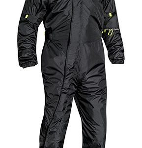 IMPERMEABLES PARA MOTO - COMPLEMENTOS IXON LLUVIA YOSEMITE BLACK/BRIGHT YELLOW -