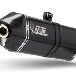 ESCAPES MIVV MOTO GUZZI - Escape MIVV Moto Guzzi M.008.LRB SPORT SLIP-ON SPEED EDGE STEEL BLACK -