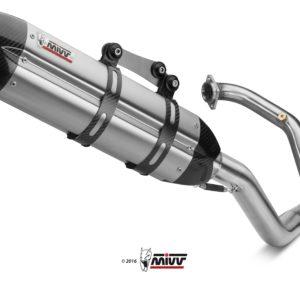ESCAPES MIVV KTM - Escape MIVV KTM X.KT.0001.S7 POWER STEEL Imp. compl./Full sys. 1x1 SUONO INOX coppe carbonio/ST. STEE