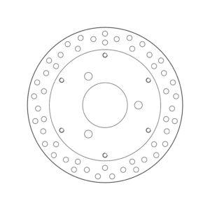 DISCOS BREMBO - Disco de freno Brembo 68B40725 -