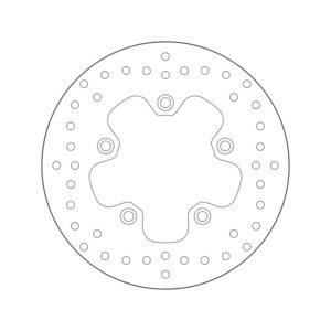 DISCOS BREMBO - Disco de freno Brembo 68B407P3 -