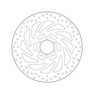 DISCOS BREMBO - Disco de freno Brembo 68B407P5 -