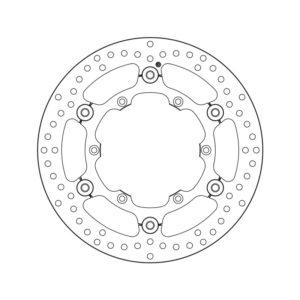 DISCOS BREMBO - Disco de freno flotante Brembo 78B40848 -