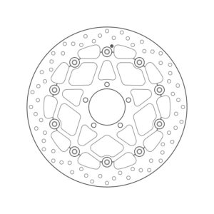 DISCOS BREMBO - Disco de freno flotante Brembo78B409B3 -