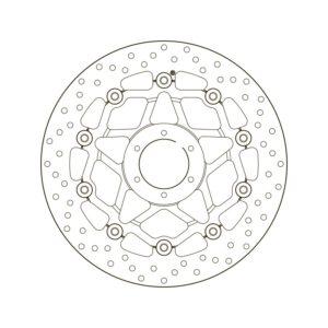 DISCOS BREMBO - Disco de freno flotante Brembo78B410B4 -