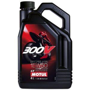 MOTUL - Motul 300V 15W50 FL Road Racing 4L -
