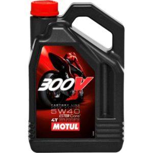 MOTUL - Motul 300V 5W40 FL Road Racing 4L -