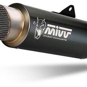 ESCAPES MIVV BMW - Escape MIVV GPpro INOXIDABLE NEGRO STANDARD -