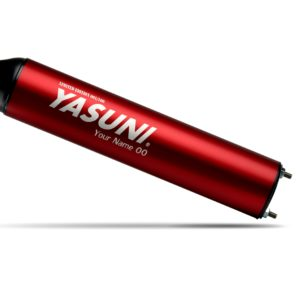 COMPONENTES ESCAPES YASUNI - SILENCIADOR SERIE MAX RED RIGHT YASUNI SIL034RXRD -