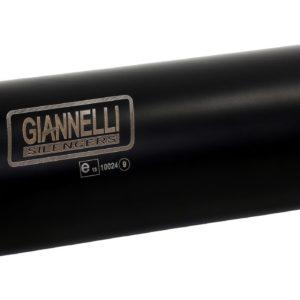 ESCAPES GIANNELLI DUCATI - Slip-on nicrom black X-PRO con racor catalítico homologado Ducati MONSTER 1200R Giannelli 735