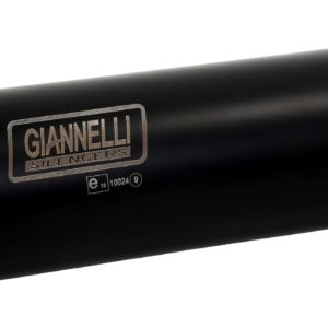 ESCAPES GIANNELLI SUZUKI - Slip-on nicrom black X-PRO con racor catalítico homologado Suzuki SV 650 Giannelli 73569XPZ -