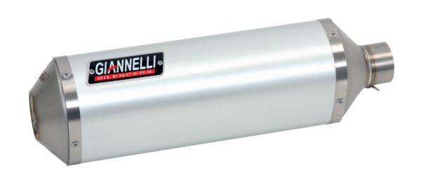 ESCAPES GIANNELLI SUZUKI - Slip on IPERSPORT aluminio (versión Black Line) Suzuki GSR 750 Giannelli 73768B6S -