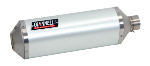 ESCAPES GIANNELLI YAMAHA - Slip on IPERSPORT aluminio y racor para colectores originales Yamaha FZ8 - FZ8 FAZER Giannell