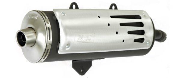 ESCAPES GIANNELLI UNIVERSALES - Escape maxiscooter FREEWAY Aprilia SCARABEO 250 Giannelli 51609Y -