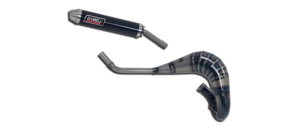 ESCAPES GIANNELLI YAMAHA - Silenciador carbono cross 2T Yamaha YZ 85 LW Giannelli 55006HF -