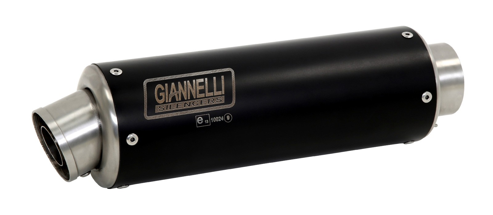 ESCAPES GIANNELLI KAWASAKI - Slip-on nicrom black X-PRO Kawasaki NINJA 250/300 Giannelli 73515XP -
