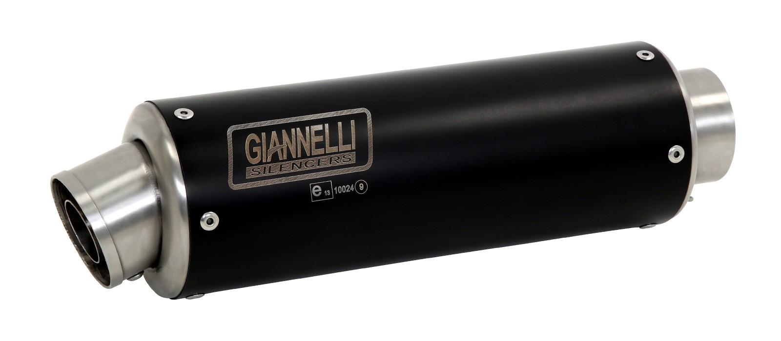 ESCAPES GIANNELLI KAWASAKI - Slip-on nicrom black (derecha + izquierda) X-PRO Kawasaki Z 1000 Giannelli 73516XP -