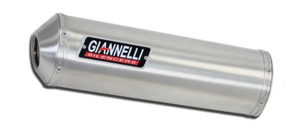 ESCAPES GIANNELLI SUZUKI - Slip on MINI OVAL aluminio Suzuki DR 600 R / S Giannelli 73692A1 -