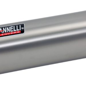 ESCAPES GIANNELLI DUCATI - Slip on IPERSPORT aluminio (versión Black Line) Ducati DIAVEL Giannelli 73774B6S -