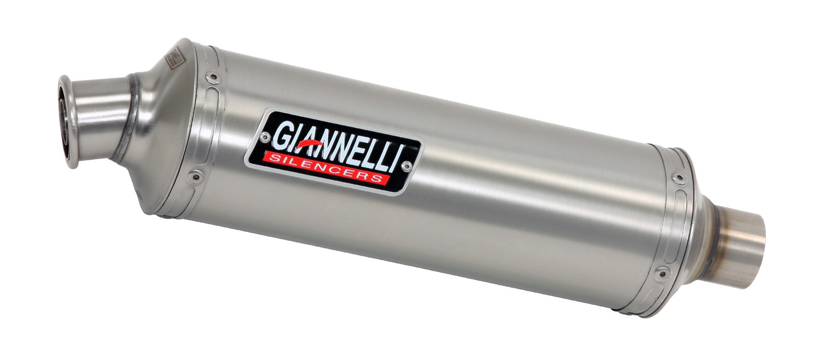 ESCAPES GIANNELLI UNIVERSALES - ROUND Sistema completo Silenciador carbono (colectores racing) Honda CBR 125 R Giannelli