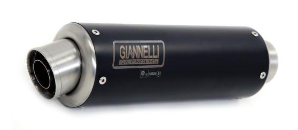 ESCAPES GIANNELLI KAWASAKI - Sistema completo nicrom black X-PRO Kawasaki Z 300 Giannelli 73546XP -