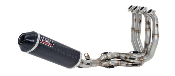 ESCAPES GIANNELLI UNIVERSALES - racor catalítico homologado cap.5 Honda CBF 1000 - CBF 1000 ST Giannelli 71511CT -