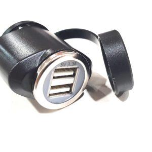 ADAPTADOR TECNO GLOBE TG MACHO DIN/DOBLE USB