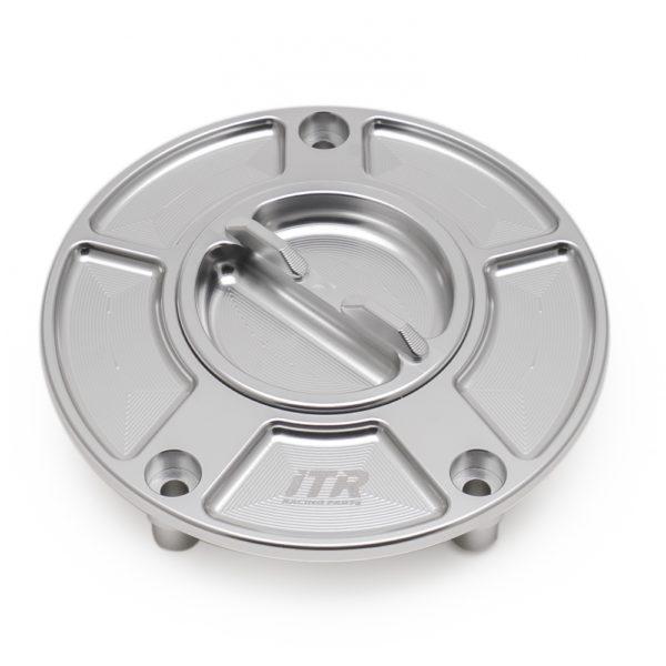 ACCESORIOS VARIOS ITR - TAPÓN ITR deposito R en aluminio con cierre de rosca Yamaha/Ducati -