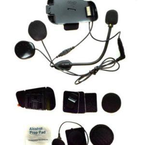 INTERCOMUNICADORES PARA MOTO - CARDO KIT AUDIO/MICRO PACKTALK/SP -