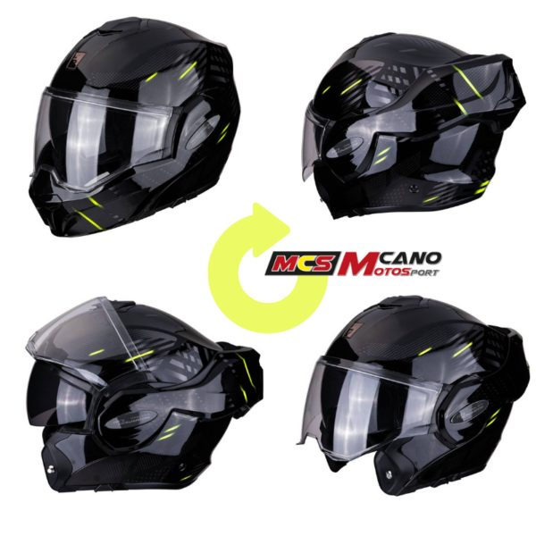 Casco Scorpion Exo Tech Solid Black