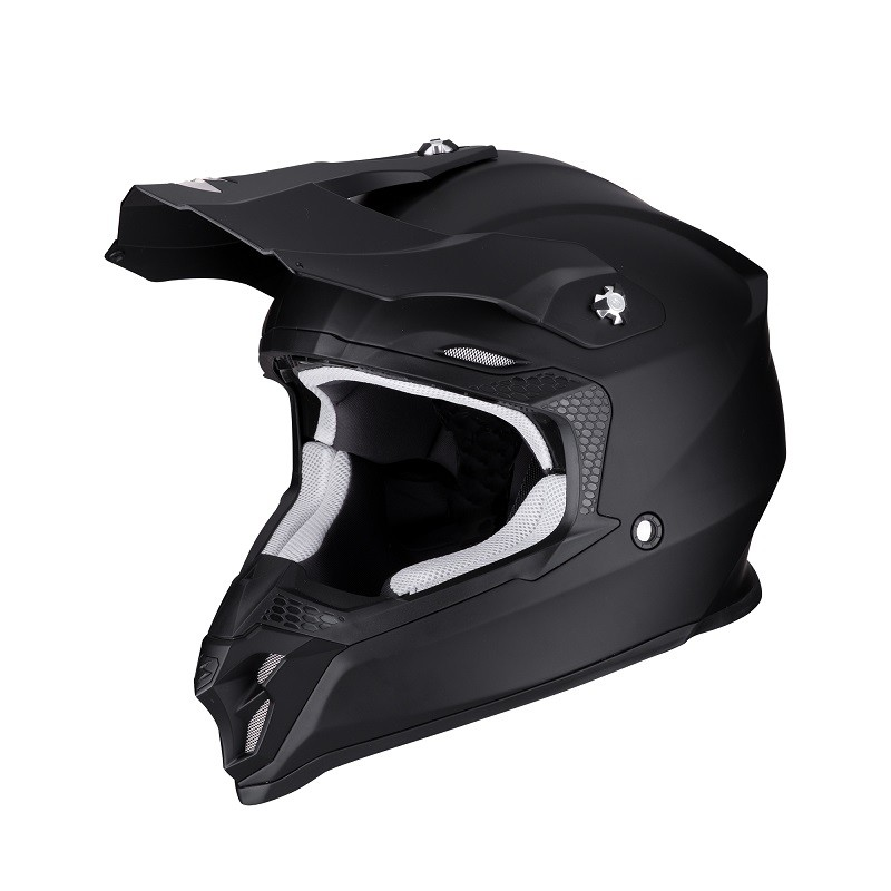 Casco Scorpion VX 16 Air Solid Matt Black