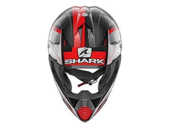 Casco Shark VARIAL TIXIER Black Glitter Red