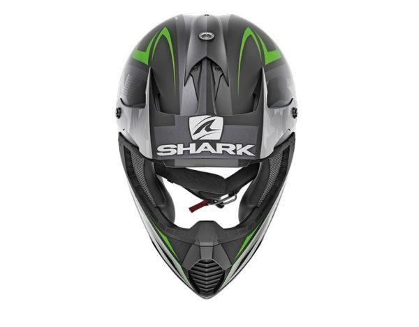 casco-shark-varial-tixier-mat-black-green-anthra