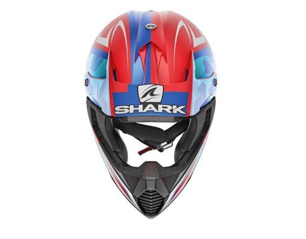 Casco Shark VARIAL TIXIER MAT Red White Blue