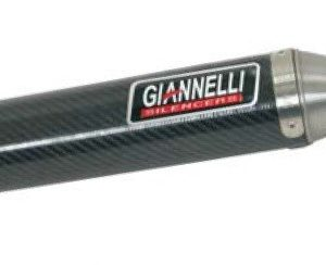 SILENCIOSOS GIANNELLI - Silenciador carbono enduro/cross 2T HM CRE 50 Six Giannelli 34643HF -